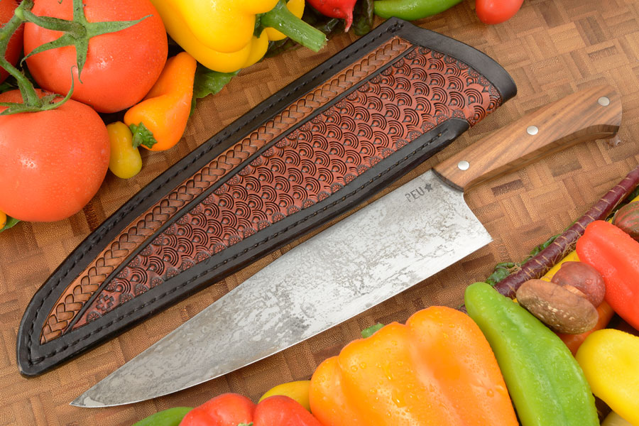 Chef's Knife (Cocinero 230mm) with Incense Wood and O2 Carbon Steel