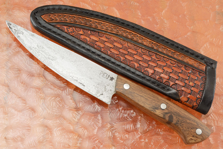 Chef's Utility Knife (Parrillero) with Lapacho and O2 Carbon Steel