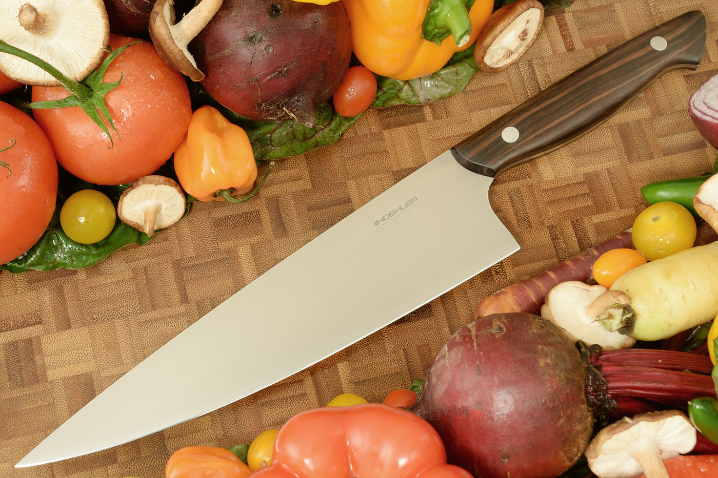 Chef's Knife (8-1/3 in) with Ebony