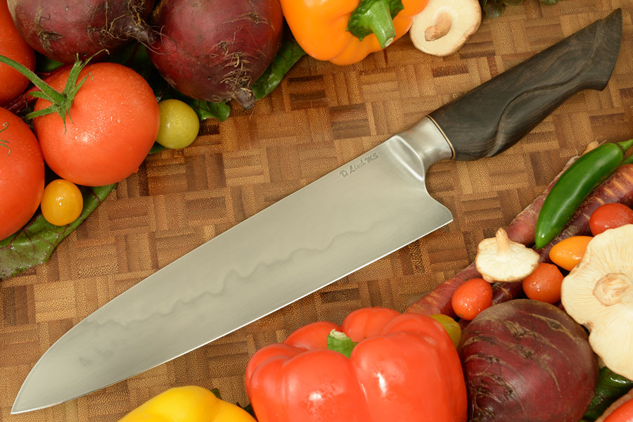 Chef's Knife (9-3/4 in.) with Ebony - Honyaki