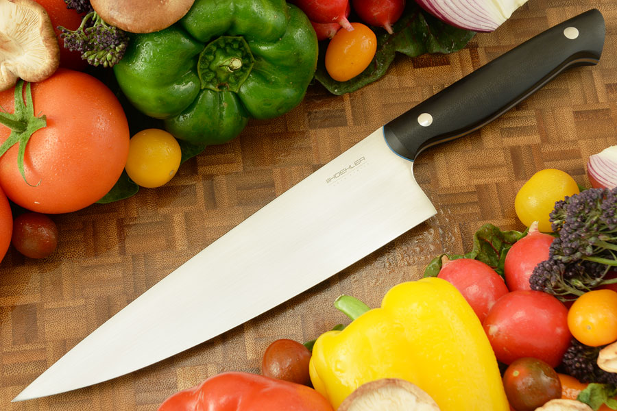 Chef's Knife (8-1/4 in) with Black G-10