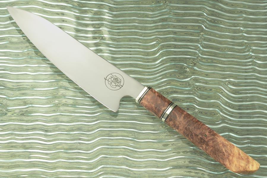 Chef's Knife (7 inches) with Lace Redwood