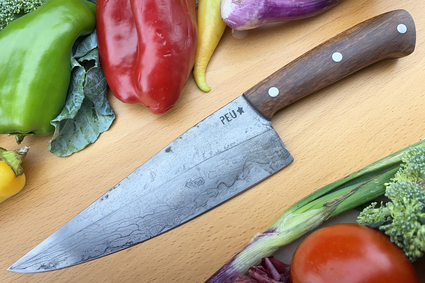 Chef's Knife (Cocinero 180mm) with Urunday and O2 Carbon Steel