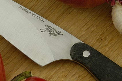 HCK Chef's Knife with Micarta - 6 in.