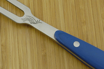 HCK Chef's Fork with Blue G10