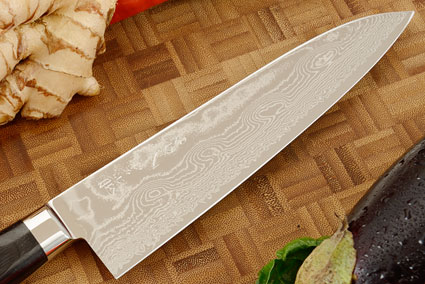 Ryusen Damascus Chef's Knife - Gyuto - 7 1/2 in.