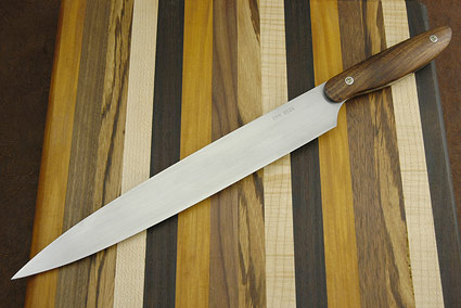 HCK Curly Koa Sushi Knife (16 in.)