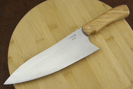 Arbuckle Deep Bellied Chef with African Olive Wood (8 1/2 in.)