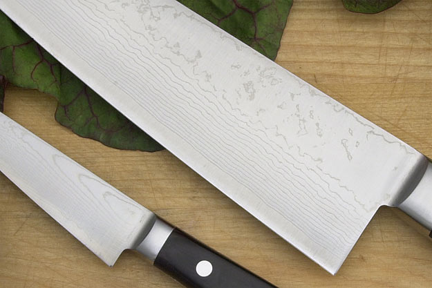 Ryusen Damascus Chef's Set: Paring (4 in.)/Gyuto (9 1/2 in.)