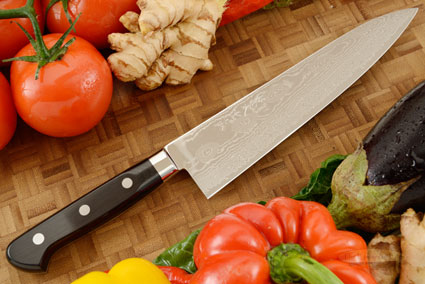 Ryusen Damascus Chef's Knife - Gyuto - 8 1/4 in. (210mm)