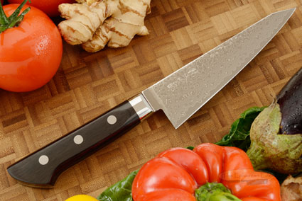 Ryusen Damascus Utility/Boning Knife - Honesuki - 6 in. - Right Handed (150mm)