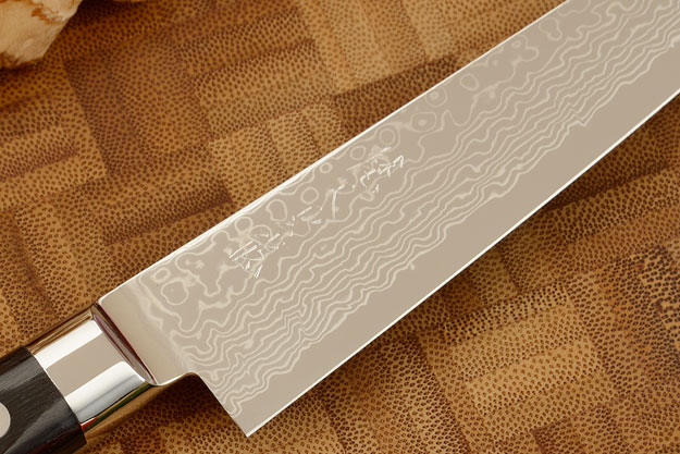 Ryusen Damascus Utility - Fruit Knife - 5 1/4 in. (135mm