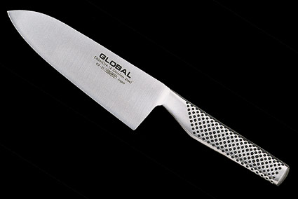 Global Santoku (Chef's Knife) - 6 1/4 in., Drop Forged (GF-32)