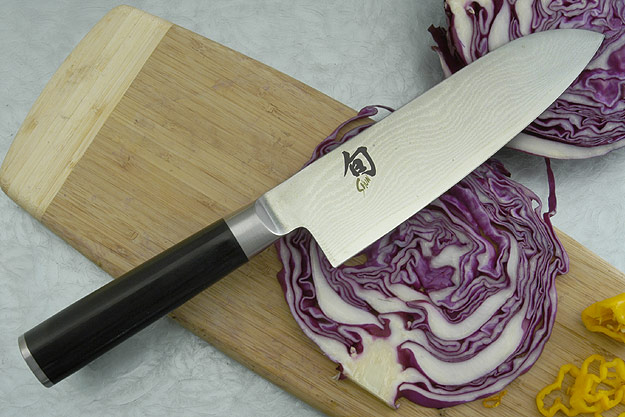 Shun Classic Santoku Knife - 6 1/2 in. (DM0702)