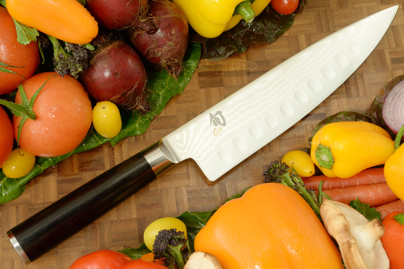Shun Classic Chefs Knife - 8 in., Scalloped (DM0719)
