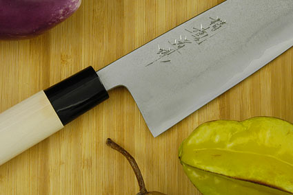 Seikon Dojo Kurouchi - Gyuto with Ho Wood Handle, 8 in.