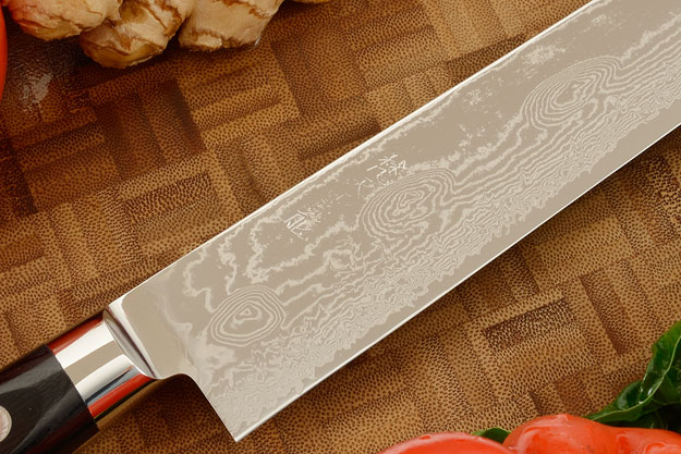 Ryusen Damascus Slicer - Sujihiki - 10-3/4 in. (270mm)