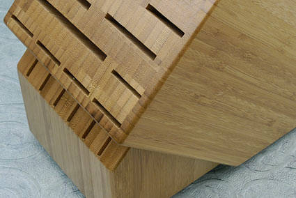Knife Block, 22 slot, Bamboo  (Bamboo22BO)
