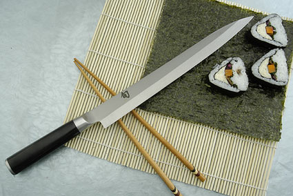 shun knife how to make right handed