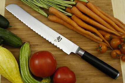 Shun Classic Bread Knife - 9 in. - Left Handed (DM0705L)