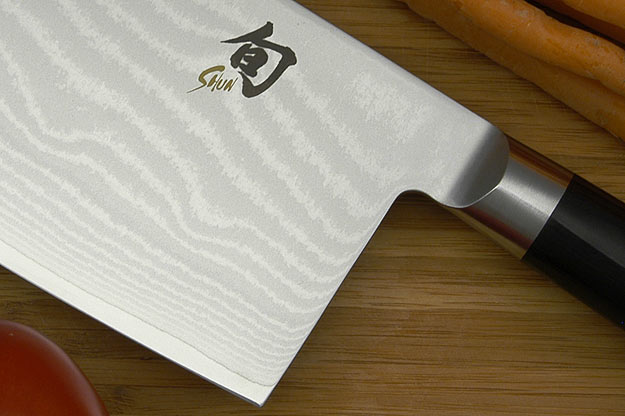 Shun Classic Chinese Vegetable Cleaver - 7 in. - Left Handed (DM0712L)