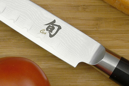 Shun Classic Slicing Knife - 9 in., Scalloped - Left Handed (DM0720L)