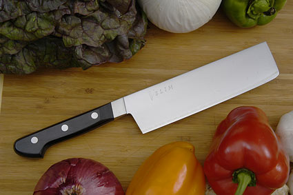 V-Slim Vegetable Knife - Nakiri - 6 1/3 in.