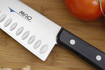 MAC Chef: Chef's Knife - 10 in. Granton Edge (TH-100)