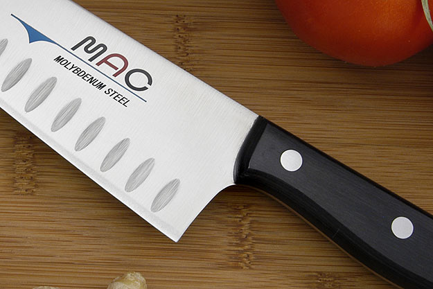 MAC Chef: Chef's Knife - 8 in. Granton Edge (TH-80)