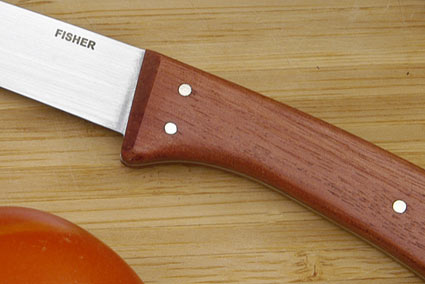 Fisher Steak Knife - 4 1/2  in., Cherry Wood