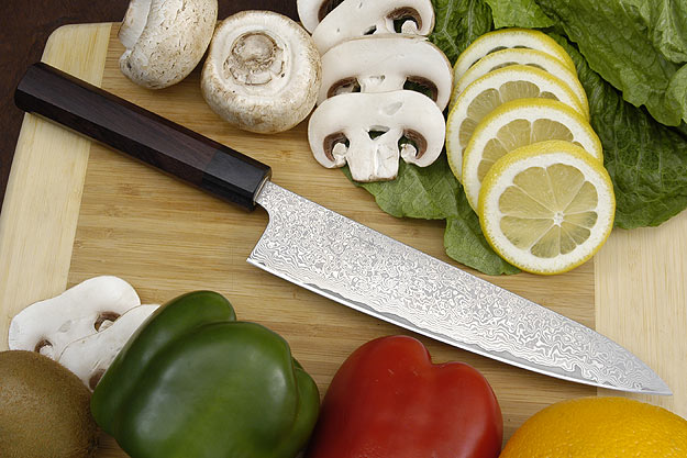 Sakon Damascus Chef's Knife - Gyuto - 8 1/2 in.