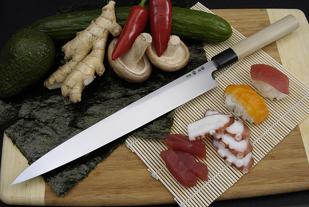 Hontan Seikon Dojo Professional Right-Handed Sashimi Hocho - 300mm