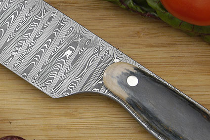 HCK Chef's Knife with Mammoth Ivory - 8 1/2 in.