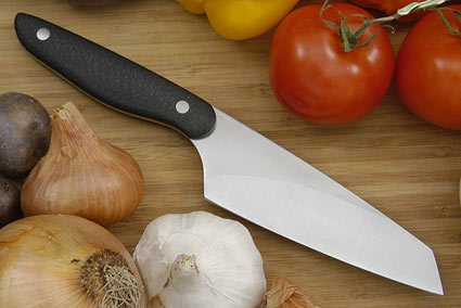 HCK Chef's Knife, Evolution with Carbon Fiber - 5 1/8 in.