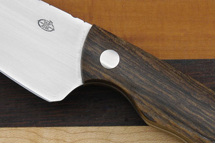 Paring Knife (3 in.) with Sculpted Bocote Wood