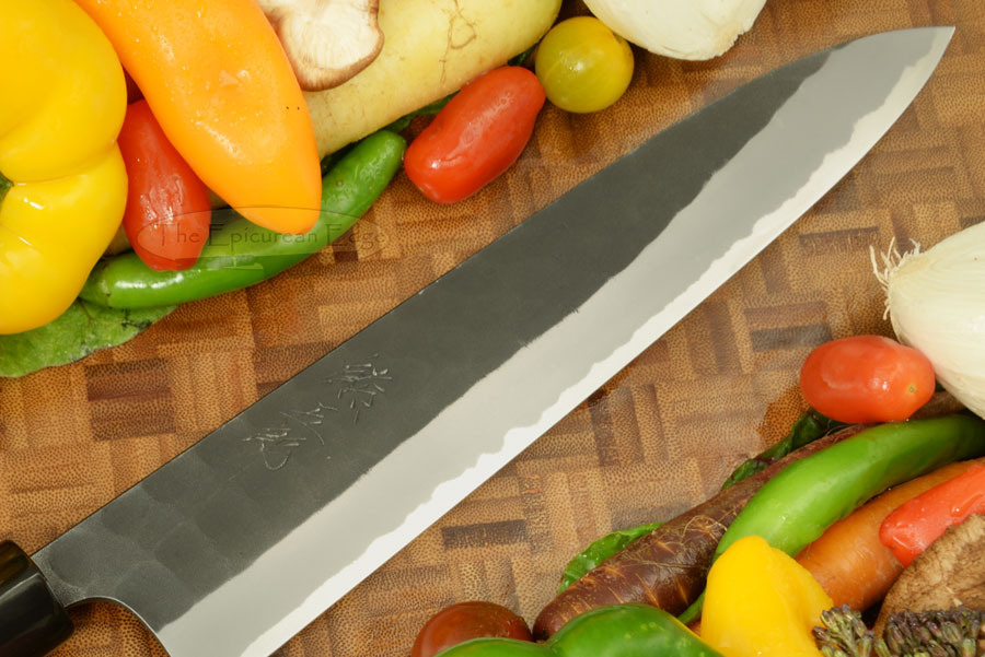 Kumagoro Hammer Finish Chef's Knife - Gyuto - 240mm (9 1/2 in.)