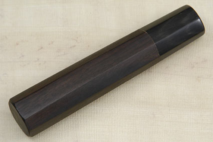 Handle (Macassar Ebony and Buffalo Horn) -- Usuba 180mm