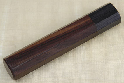 Handle (Macassar Ebony and Pakka Wood) -- Petty