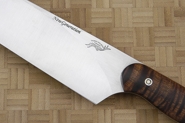 HCK Chef's Knife with Curly Koa - 10 in.