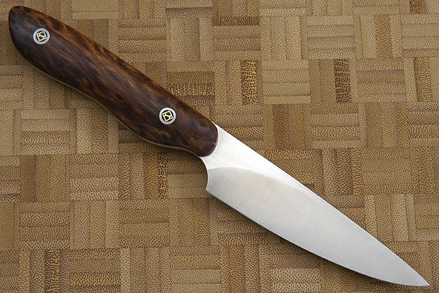 HCK Paring Knife with Redwood Burl - 3 1/2 in.