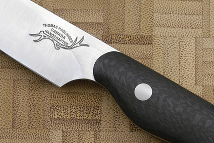 HCK Paring Knife with Carbon Fiber - 3 1/2 in.