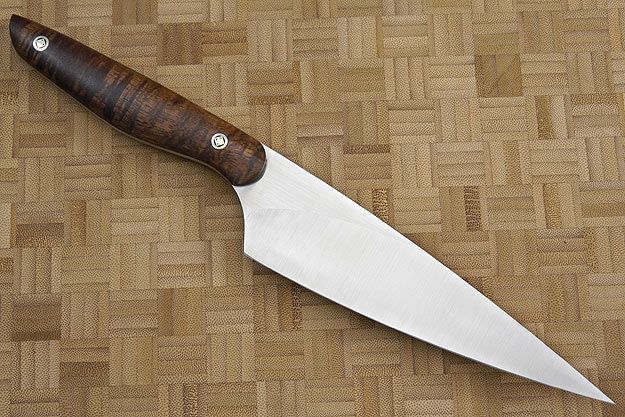 HCK Chef's Knife with Curly Koa - 6 in.