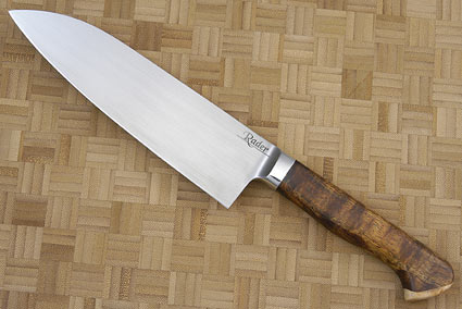 Santoku with Koa and Maple