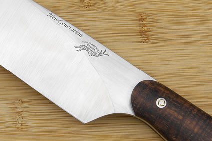 HCK Chef's Knife with Curly Koa - 8 in.
