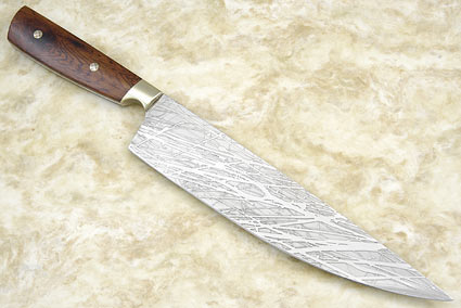 Handmade Kingwood Chef's Knife (9 2/3 in)