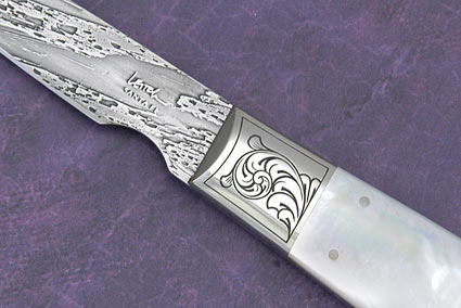 Mother of Pearl Desk Knife