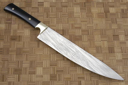 Handmade African Blackwood Chef's Knife (9 2/3 in)