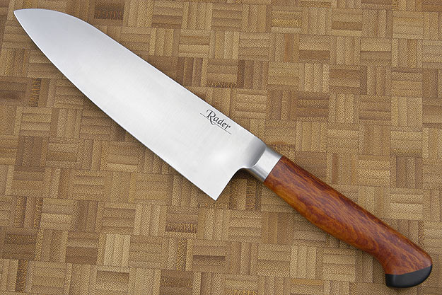 Santoku with Sheoak Burl