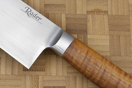 Santoku with Koa and Elder Burl