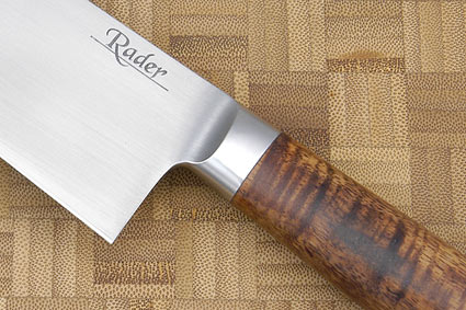 Santoku with Curly Koa and Blackwood